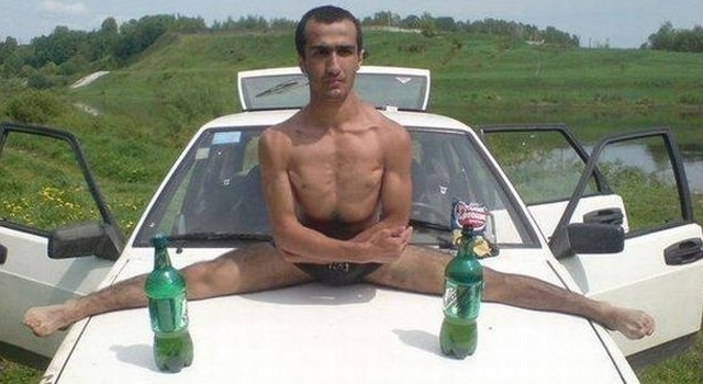 Awesome Photos From Russia With Love - Split Man