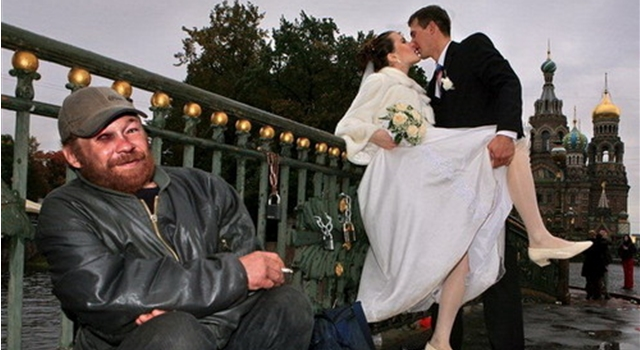 Awesome Phots From Russia With Love - Wedding Fight