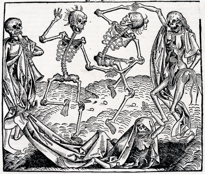 Black Death - The Plague - The Dance Of Death