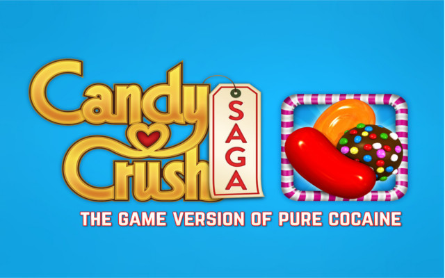Candy Crush Honest Slogan