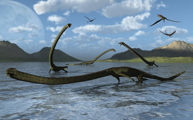 Dinosaur - Weirdest Strangest Coolest - Tanystropheus - Reconstruction