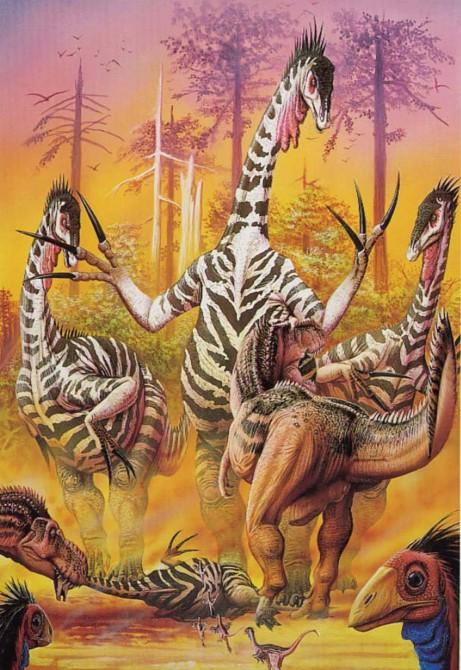 Dinosaur - Weirdest Strangest Coolest - Therizinosaurus Artist Impression