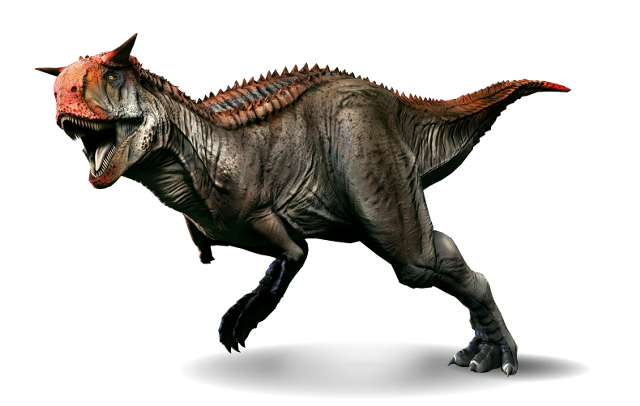 Dinosaur - Weirdest Strangest Coolest - carnotaurus - coloured