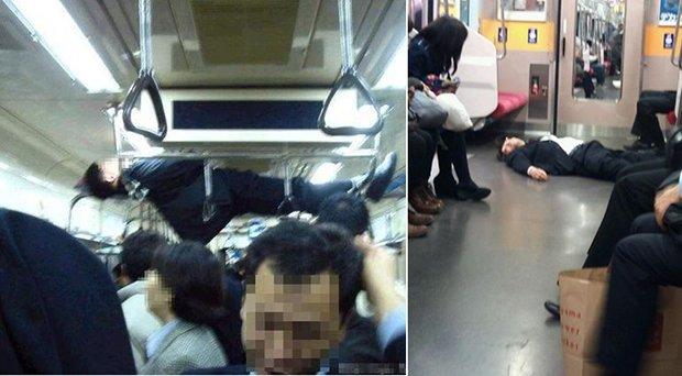 Falling Asleep On The Japanese Tube 6