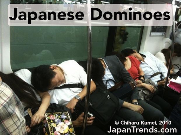 Falling Asleep On The Japanese Tube 9