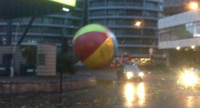Giant Beach Ball London