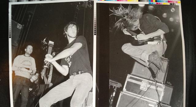 Kurt Cobain Nirvana 1989