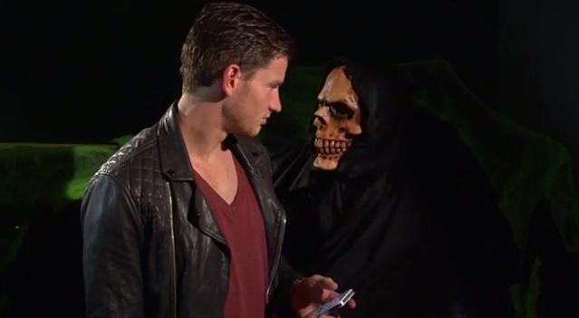 Kyle Walker Halloween Prank