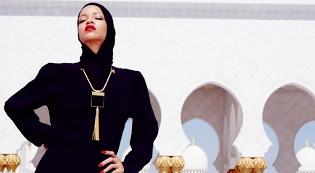 Rihanna Mosque Photoshoot