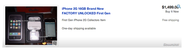 iPhone 2G 3