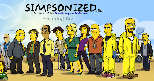 Simpsons Breaking Bad