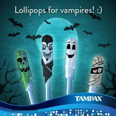 TAmpax Halloween Advert