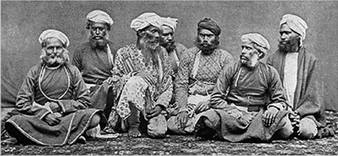 Thuggee - India - Thug group in 1894