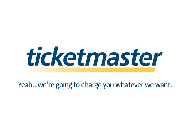 Ticketmaster Honest Slogan