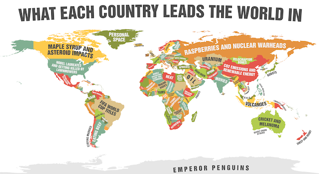 World Map Featured