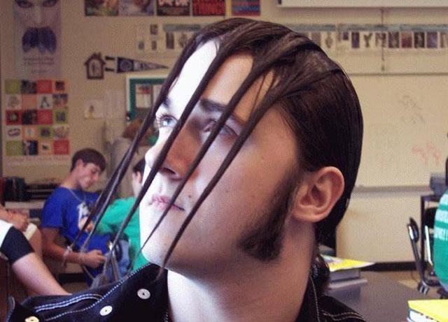 Worst Hair Cut Ever - Terrible Hair Style - Coal Chamber 2