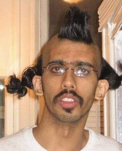 Worst Hair Cut Ever - Terrible Hair Style - Wild Indian Fella