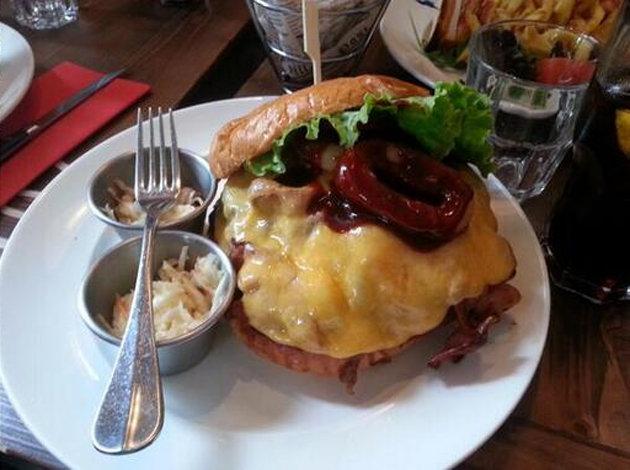 Zlatan Burger 2