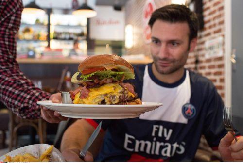 Zlatan Burger 5