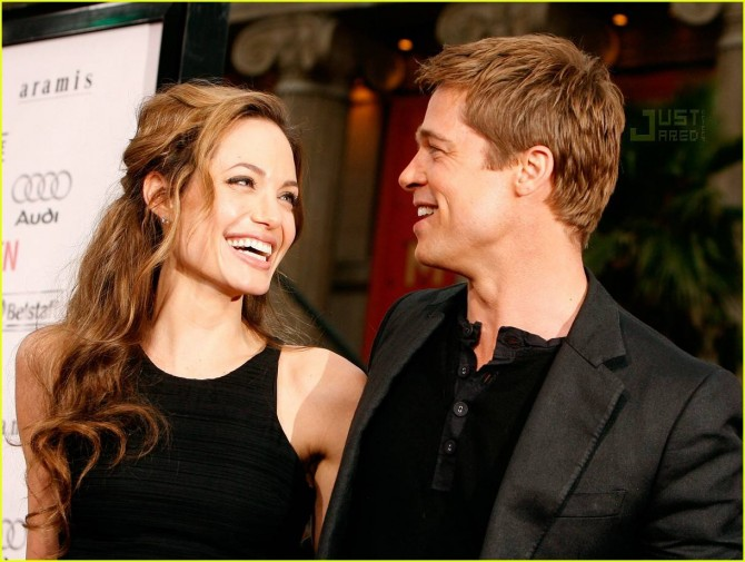 angelina jolie brad pitt power couple