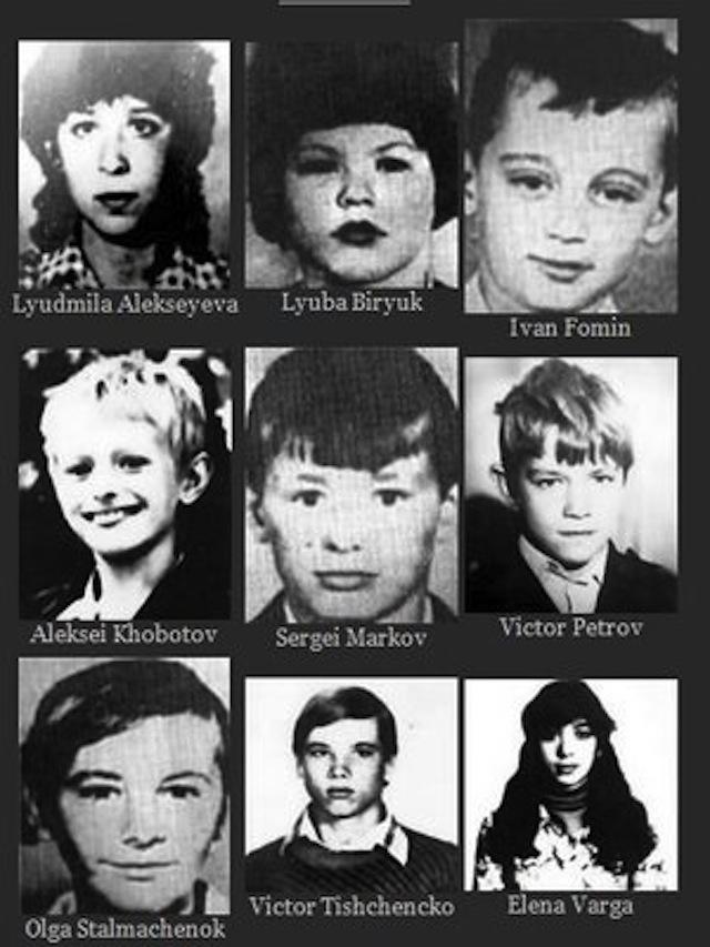 chikatilos-child-victims