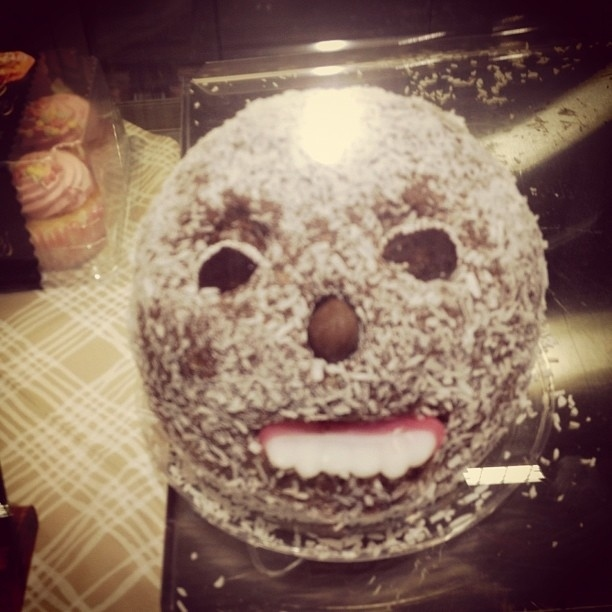 wtf cake with teeth