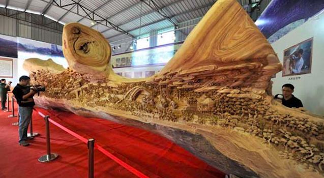 Biggest Tree Carving Ever