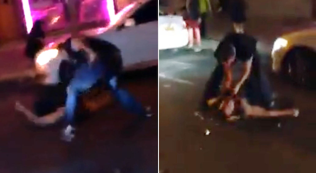 Brutal New York City Cop Beatdown