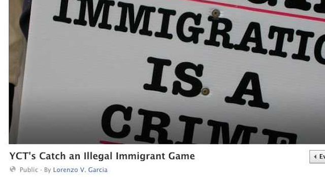 Catch An Illegal Immigrant