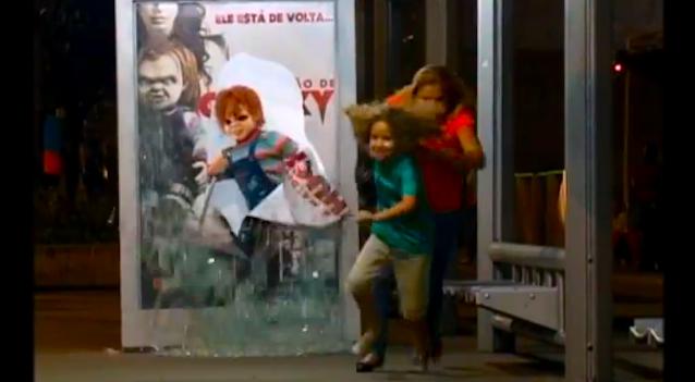 Chucky Prank Brazil