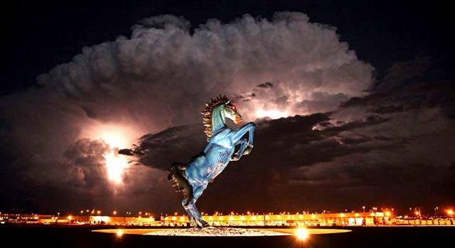 Denver International Airport Horse