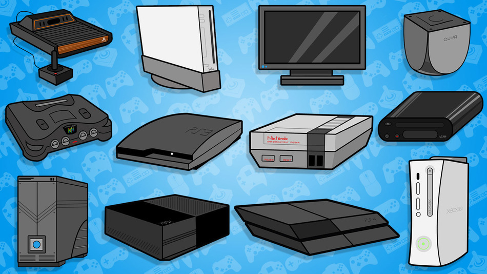 Games Consoles Featured