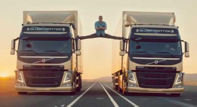 Jean Claude Van Damme Splits Lorries
