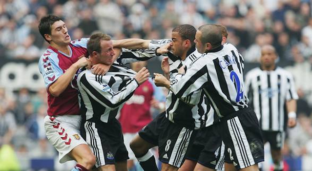 Lee Bowyer Kieron Dyer Fight