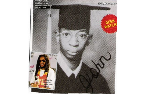 Lil Jon Yearbook photo