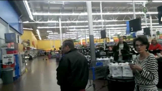 Man Caught Masturbating Walmart