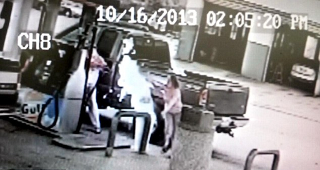 Man Sets Wife On Fire At Petrol Station