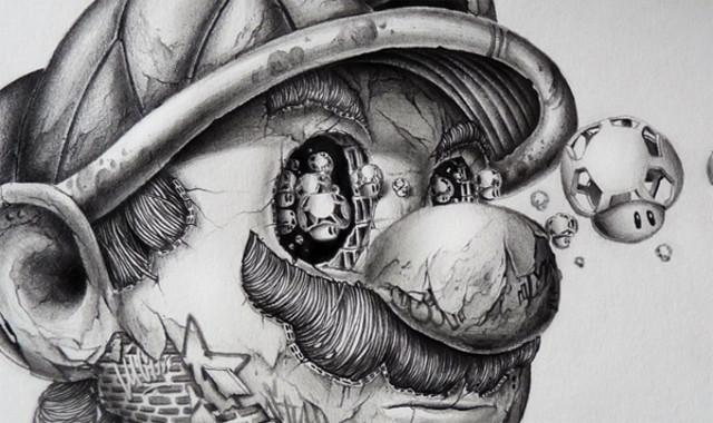 Creepy Cartoon Drawings Artist Creates Of Your