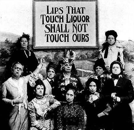 Prohibition - Drink Ban - America - Woman's Movement