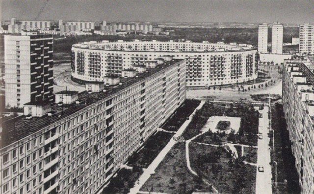 Soviet Architecture - Matveevsky - House-Ring