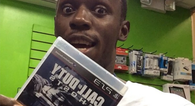 Usain Bolt Call Of Duty Ghosts