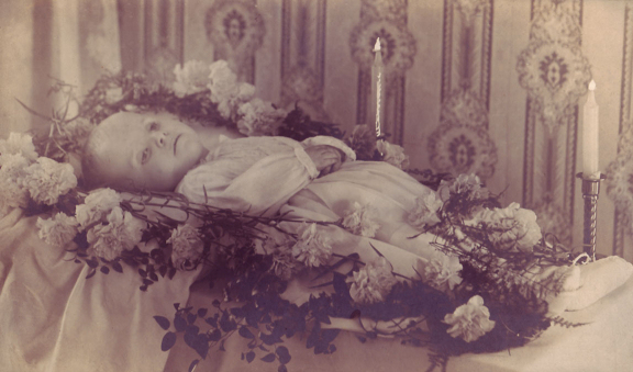 Victorian Death Photos - Momento Mori - Baby