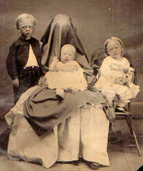 Victorian Death Photos - Momento Mori - Creepy