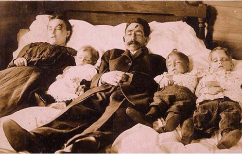 Victorian Death Photos - Momento Mori - Family