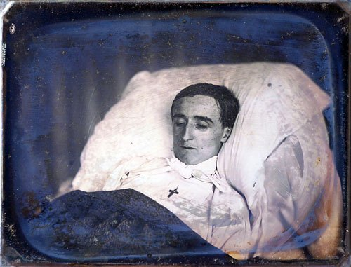 Victorian Death Photos - Momento Mori - Husband