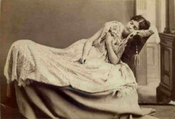 Victorian Death Photos - Momento Mori - Sleeping Girl