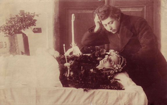 Victorian Death Photos - Momento Mori - Wife