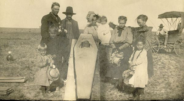 Victorian Death Photos - Momento Mori - Wild West