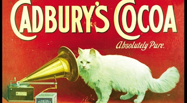 Vintage Cat Advertisements Featured