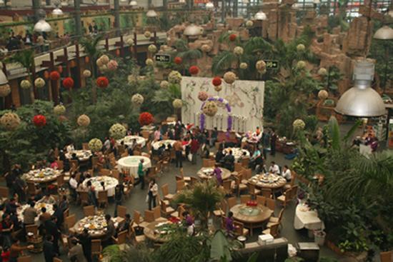 Weird Theme Restaurant - China - Tang Du Zoology Restaurant